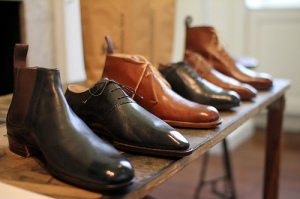 Sebastian Tarek's beautiful bespoke footwear