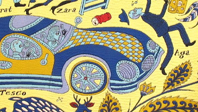 The Walthamstow Tapestry detail 1