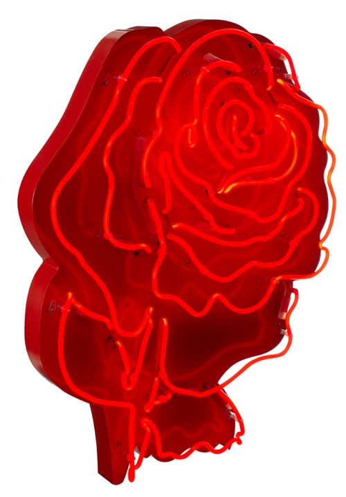 Chris Bracey Neon Rose