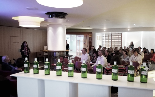 Terence speaking at Diageo HQ